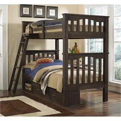NE Kids Highlands Harper Storage Bunk Bed 2