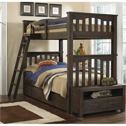 NE Kids Highlands Harper Bunk with Trundle 2