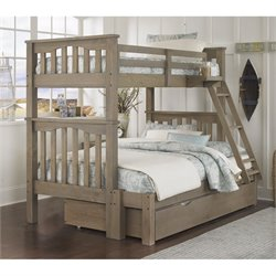 NE Kids Highlands Harper Bunk with Trundle