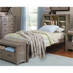 NE Kids Highlands Bookcase Bed with Trundle