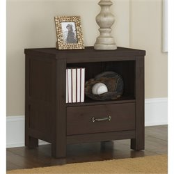 NE Kids Highlands Nightstand in Espresso