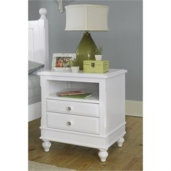 NE Kids Lake House Nightstand in White