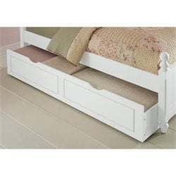 NE Kids Lake House Trundle in White