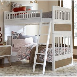 NE Kids East End Jet Twin over Twin Bunk Bed