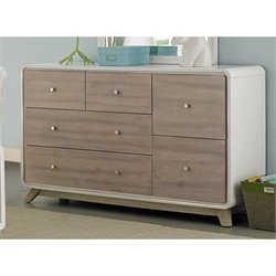 NE Kids East End 6 Drawer Dresser