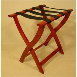 Proman Products Luggage Rack in Cherry