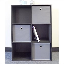 Proman Products Colonial Storage Cubes in Black