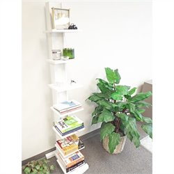 Proman Products Hancock Tower Spine Shelf In White