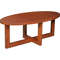 Regency Chloe Oval High Veneer Coffee Table in Cherry