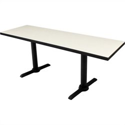Regency Cain T Base Training Table in Maple
