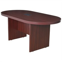 Regency Legacy Racetrack Conference Table in Mahogany - 71 inch