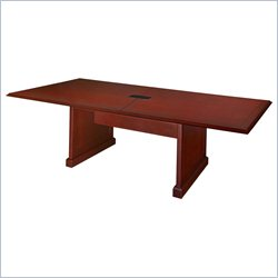 Regency Prestige Rectangle Conference Table in Mahogany - 96 inch