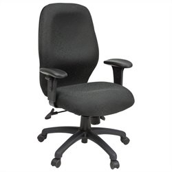 Regency Charisma Swivel Task Chair in Black