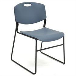Regency Zeng Polypropylene Stack Chair in Blue