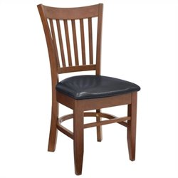 Regency Zoe Cafe  Dining Chair in Cherry and Black