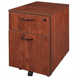 Regency Sandia Mobile File Pedestal in Cherry