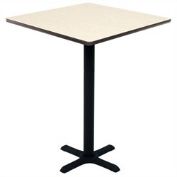 Regency Square Cafe Table in Maple - 30 inch