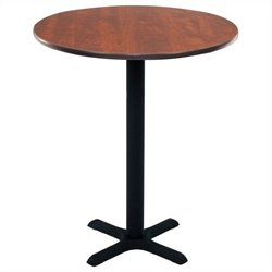Regency Round Cafe Table in Cherry - 30 inch