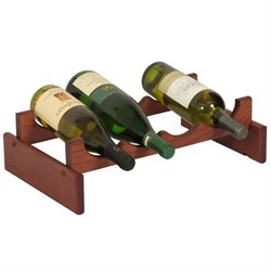 Dakota 4-Slot Wine Rack in Mahogany