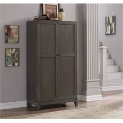 American Heritage Fairfield Home Bar Cabinet in Glacier