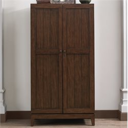 American Heritage Fairfield Home Bar Cabinet in Sable