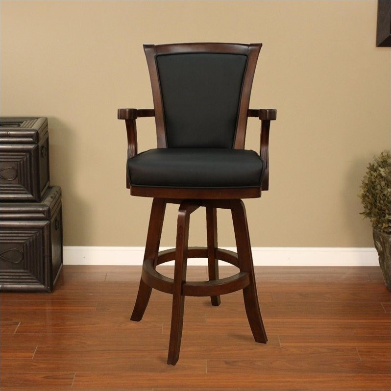 American Heritage Billiards Auburn 30 Bar Stool In Suede 100619sd S L 1
