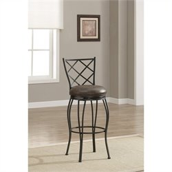 American Heritage Billiards Ava Bar Stool in Coco