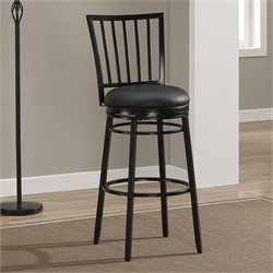 American Heritage Easton Bar Stool in Black