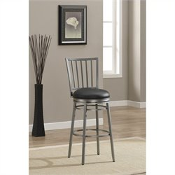 American Heritage Easton Bar Stool in Flint