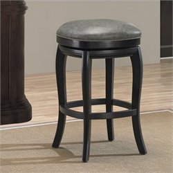 American Heritage Billiards Madrid Bar Stool in Black - 26