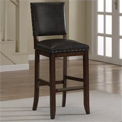 American Heritage Billiards Sutton Bar Stool in Suede - 26