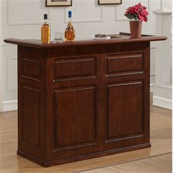 American Heritage Billiards Trenton Home Bar in Suede