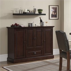American Heritage Billiards Carlotta Home Bar in Cherry