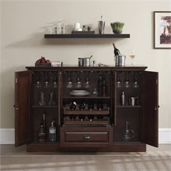 American Heritage Billiards Carlotta Home Bar in Navajo