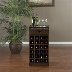 American Heritage Billiards Natalia Wine Cabinet in Cherry