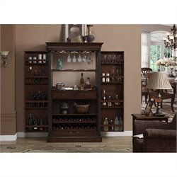 American Heritage Billiards Angelina Home Bar in Cherry