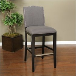 American Heritage Chase Bar Stool in Black