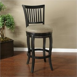 American Heritage Maxwell Bar Stool in Black