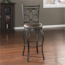 American Heritage Billiards Nadia Bar Stool in Coco