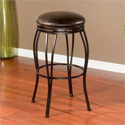 American Heritage Romano Bar Stool in Coco