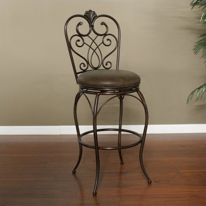 American Heritage Solace Bar Stool in Clay