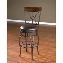 American Heritage Starletta Bar Stool in Graphite