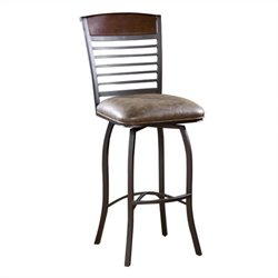 American Heritage Stefano Bar Stool in Coco