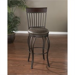 American Heritage Torrance Bar Stool in Pepper