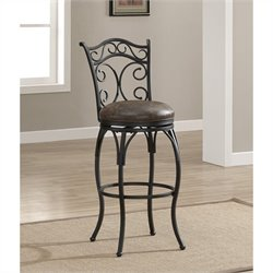 American Heritage Solana Bar Stool in Graphite