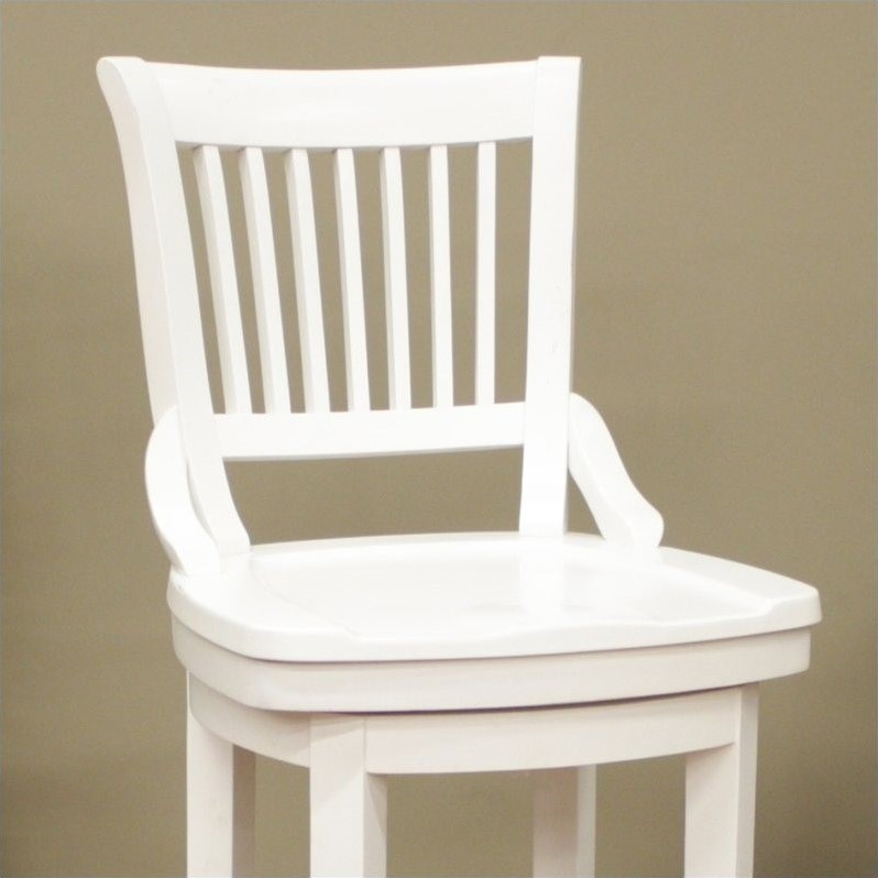 American Heritage Liberty Bar Stool in Antique White