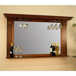 American Heritage Billiards Kokomo Mirror in Vintage Oak