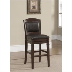 American Heritage Billiards Artesian Bar Stool Navajo and Tobacco
