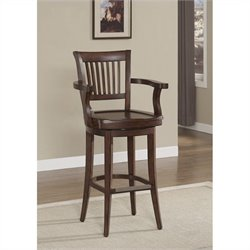 American Heritage Billiards Molena Bar Stool in Suede