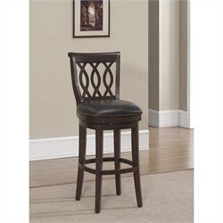 American Heritage Billards Prado Bar Stool in Navajo and Tobacco